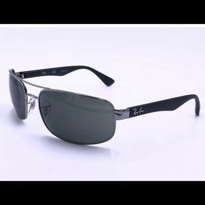 Ray Ban Sunglasses RB3445 004 Gunmetal Unisex